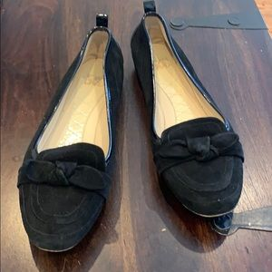 Joan and David gently worn shoes: leather sole